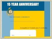 work anniversary certificates